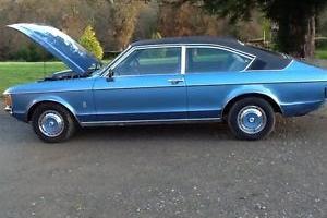 1975 FORD GRANADA GHIA CPE AUTO BLUE