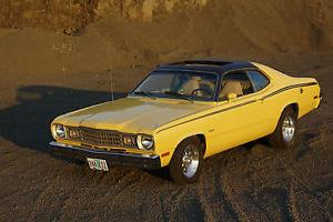 1974 Plymouth Duster Coupe with very rare factory SUNROOF