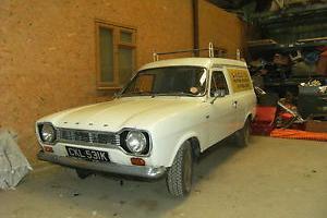 mk1 escort van 1972 1 owner from new very rare barn find retro classic