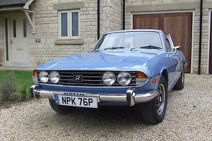 1976 TRIUMPH STAG AUTO BLUE