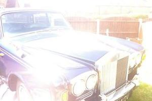 rolls royce silver shadow 1. 1971 tax exempt,been in same family last 40 years.