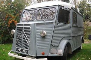 Citroen H van 1956 Never welded nice original unmolested van with no issues