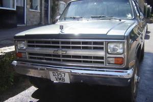 Chevrolet K30 pickup 1986