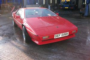 1979 LOTUS ESPRIT RED