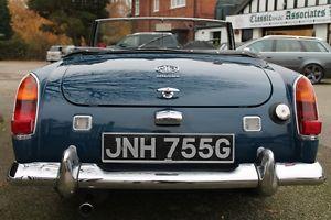 1968 Mklll 1275cc MG MIDGET BLUE