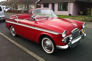 SUNBEAM RAPIER SERIES III CONVERTIBLE 1961 CLASSIC CAR