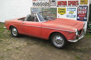 Fiat 1200 Sports, 1961, LHD - Restoration Project