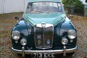 MG Magnette. ZB Varitone 1958. VRN 713 EKE