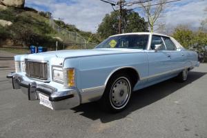 1 OWNER 1978 Mercury Grand Marquis 6.6L 400 V8 Sedan Lincoln Town Car Near Mint