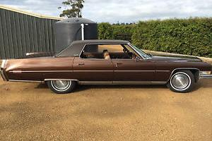 1973 Cadillac Sedan Deville Pillarless Fantastic Condition NO Reserve in Melbourne, VIC
