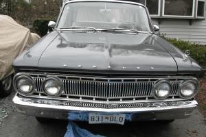 VINTAGE 1962 Mercury COMET S-22 - ORIGINAL INTERIOR - RUNS WELL