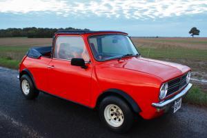1980 Austin Morris Mini Clubman Convertible. Interesting History. Full MOT.