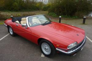 JAGUAR XJS V12 CONVERTIBLE 1989 - 7,300 MILES WARRANTED FROM NEW STUNNING