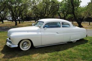 """1951 Mercury 2 Dr Coupe 460/C6 PearlWhite  Ford 9"""" Rear PS PDiscB Tilt AC"""