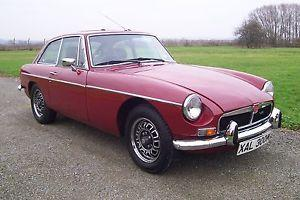 MGB GT V8,1973 FACTORY CHROME BUMPER.NO 329,RECOMMISIONED AFTER 13 YEARS SLEEP