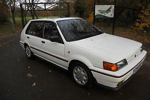 NISSAN SUNNY 1.8ZX TWIN CAM (ONE PREVIOUS OWNER)