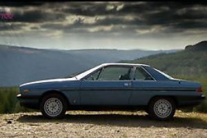 Lanica Gamma Coupe - 2.4lr injection, automatic, 1985 rare, low mileage