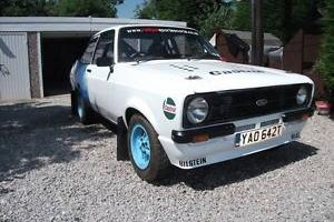 Ford Escort MK2 Stage Rally Car Fully Rebuilt