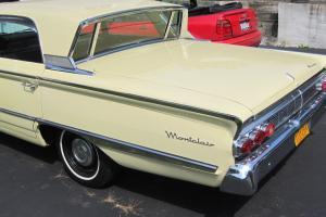 1964 Mercury Montclair 4dr Breezeway sedan  Yellow ext blk int