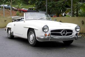 1962 Mercedes 190SL IN GOOD CONDITION NO RESERVE PRICE