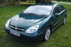 02 (02) CITROEN C5 3.0 V6 EXCLUSIVE SE AUTO, ONLY 20412 MILES, 1 OWNER FROM NEW