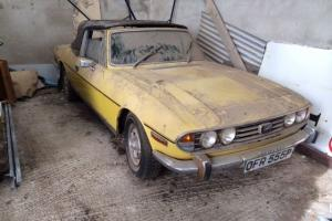 1975 TRIUMPH STAG YELLOW