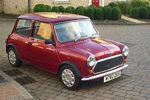 1995 CLASSIC MINI SPRITE AUTOMATIC (RED)  Photo