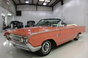 1964 MERCURY MONTEREY CONVERTIBLE, ONLY 30,707 MILES, FACTORY A/C, 3 OWNERS!