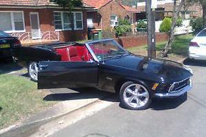 Mustang Convertible RHD
