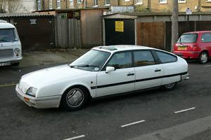 Citroen CX 25 GTi Turbo 2 the last petrol-powered CX registered in the UK
