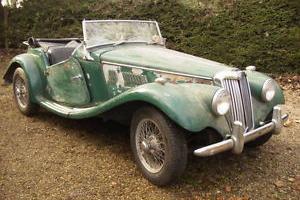MG TF 1954 Restoration Project 1500cc