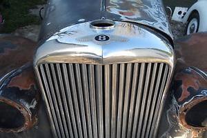 Bentley Mk6 r type derivative special running project restoration barn find