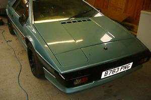 1984 LOTUS ESPRIT TURBO BLUE. 27,000 MILES FROM NEW