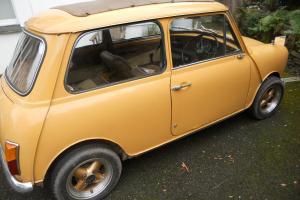classic Mini 1976 full mot webasto sunroof low milage 1275  Photo