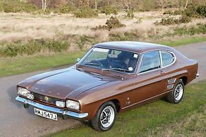 1971 Ford Capri Mk 1 2000 Gt Xlr Show Condition