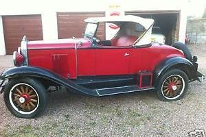 1930 CHEVROLET GMC RED/BLACK