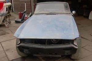 TRIUMPH TR6 1974 PART RESTORED 1000S OF POUNDS OF NEW PARTS