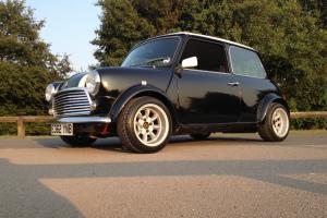 1988 AUSTIN MINI JET BLACK cooper customised not 1275 gt