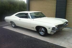 Chevrolet Impala 1967 Super Sport 327 Auto 2 Door Fastback PWR Steering Rally'S in Melbourne, VIC for Sale