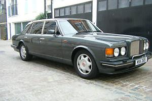Bentley Turbo RL RHD Long Wheelbase Automatic Grey Exterior / Grey Leather, Wood