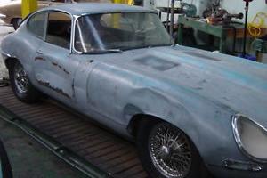 1962 Jaguar E-Type fhc For restoration - No reserve