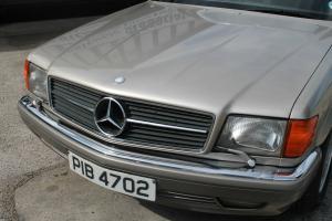 1990 MERCEDES 560 SEC AUTO GOLD