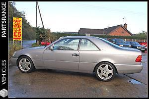 1994 MERCEDES S600 S CLASS COUPE AUTO SILVER 6.0L V12 W140 PETROL CLASSIC CAR