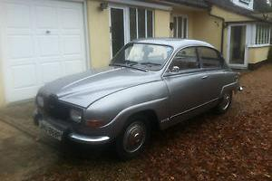 1975 SAAB 96 V4 SILVER SILVER JUBILEE LIMITED EDITION Num 150 of 300 ever made