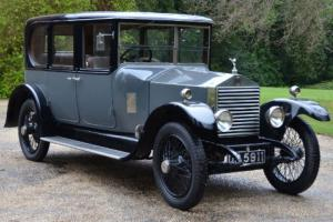 1923 Rolls Royce 20hp saloon by Vincent of Reading.  Photo