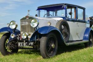 1930 Rolls Royce 20/25 Landaulette by Connaught.  Photo