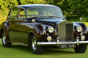 1962 Rolls Royce Silver Cloud II long wheel base with division.