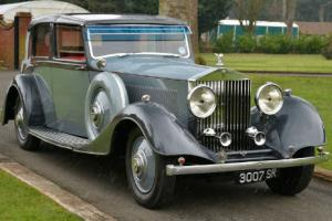 1934 Rolls Royce Phantom II Sedanca.  Photo