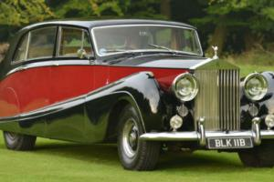 1957 Rolls Royce Silver Wraith automatic.