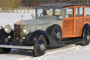 1928 Rolls-Royce Phantom 1 Shooting Brake.  Photo